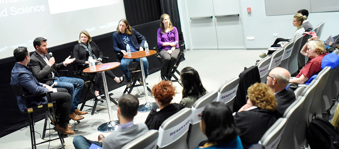 """Exploring Ethics: Across Art, Humanities, and Science"" was held on May 8 at The Block Museum"